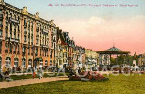 Boulogne-sur-mer: Boulevard Ste-Beuve et l'Hôtel Impérial