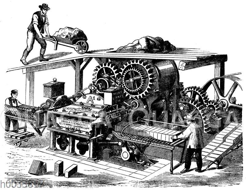 Ziegelformmaschine