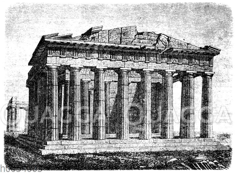 Parthenon auf der Akropolis von Athen