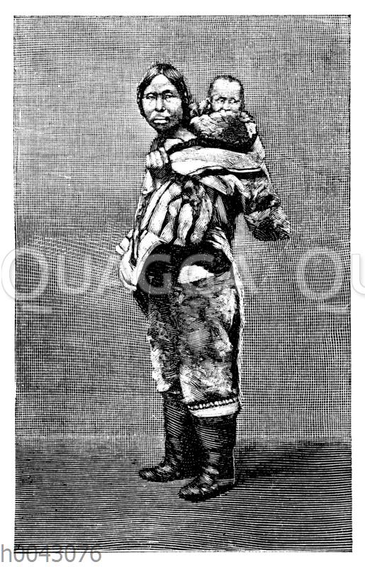 Eskimo-Frau aus Labrador