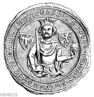 Landfriedenssiegel König Wenzels