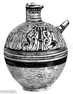 Tonkrug aus Kypros