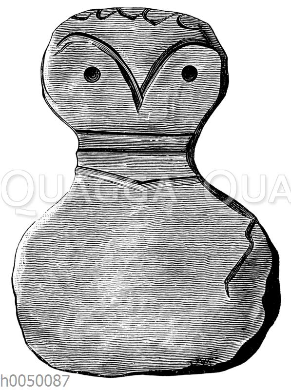 Terrakotta-Idol aus dem prähistorischen Troja