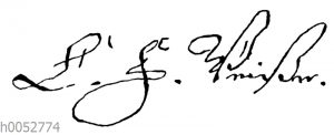 C. F. Weitze: Autograph