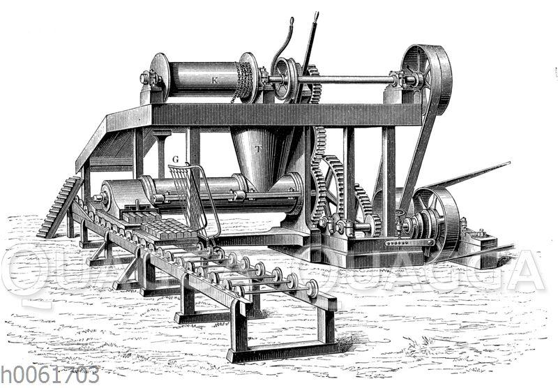 Torfmaschine von Clayton