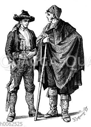 Landleute aus Altkastilien