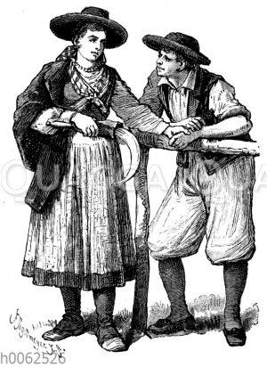 Portugiesische Landleute