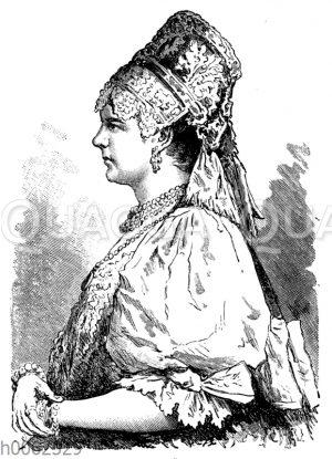 Frau von Archangelsk