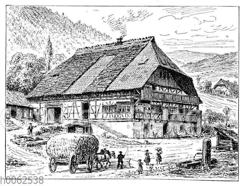 Allemannisches Haus im Schwarzwald