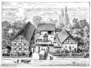 Fränkische Hofanlage