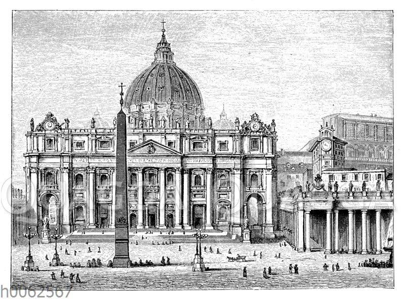 Die Peterskirche in Rom