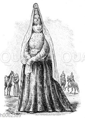 Kirgisische Braut