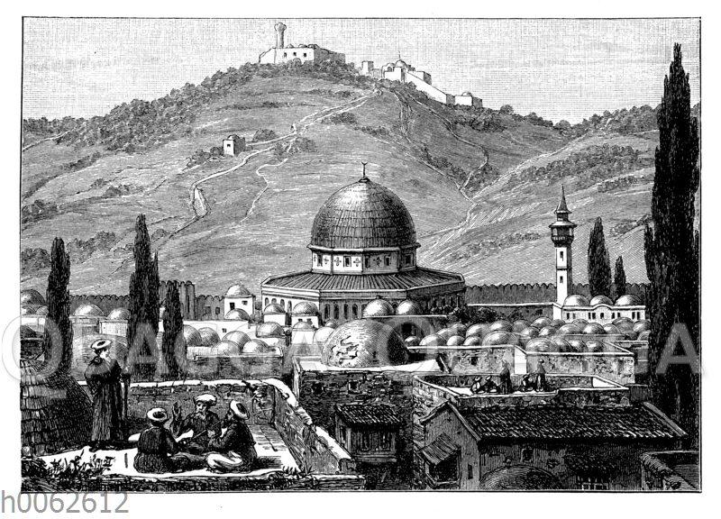 Jerusalem mit dem Ölberg
