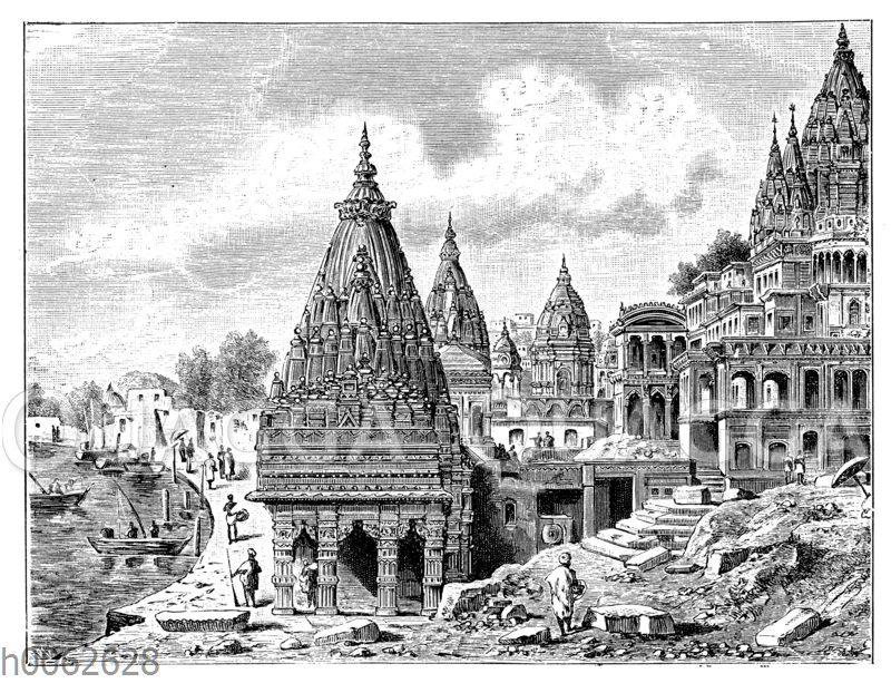 Ansicht von Benares