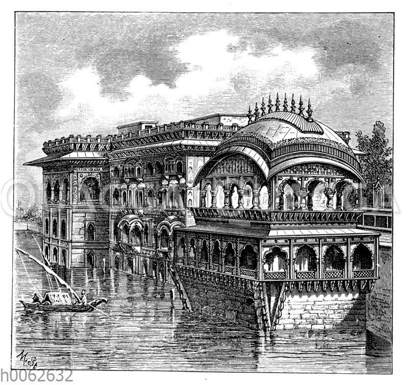 Palast Gopal Bhaman bei Agrah