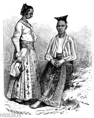 Singhalesen aus Ceylon