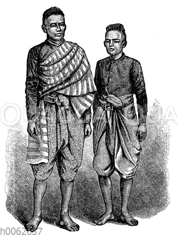 Männer aus Siam