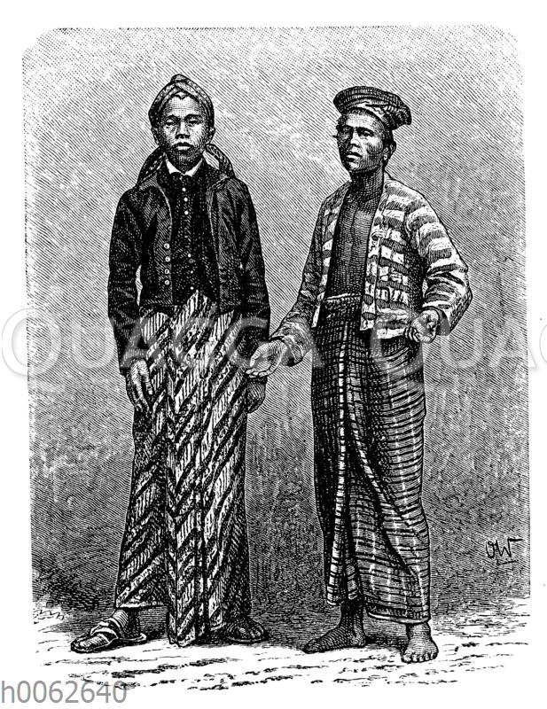 Malaien von Java und Sumatra