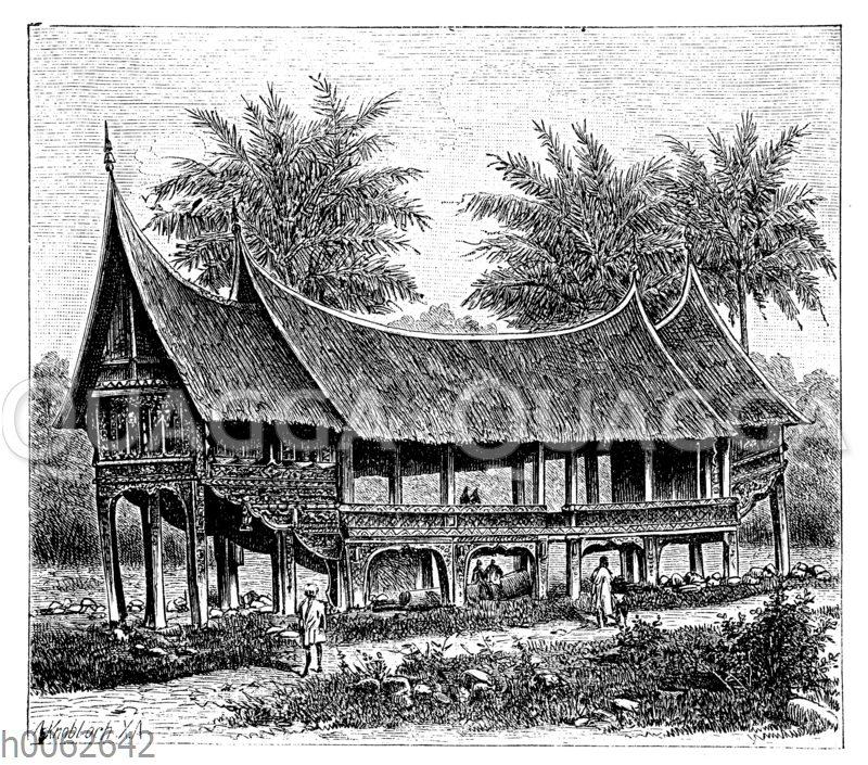Gemeindehaus bei Padang
