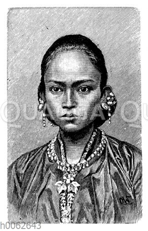 Javanische Frau