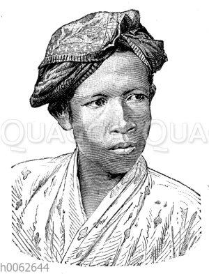 Malaie aus Batavia