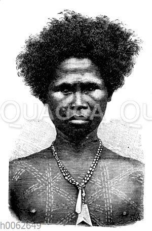 Negrito von den Philippinen
