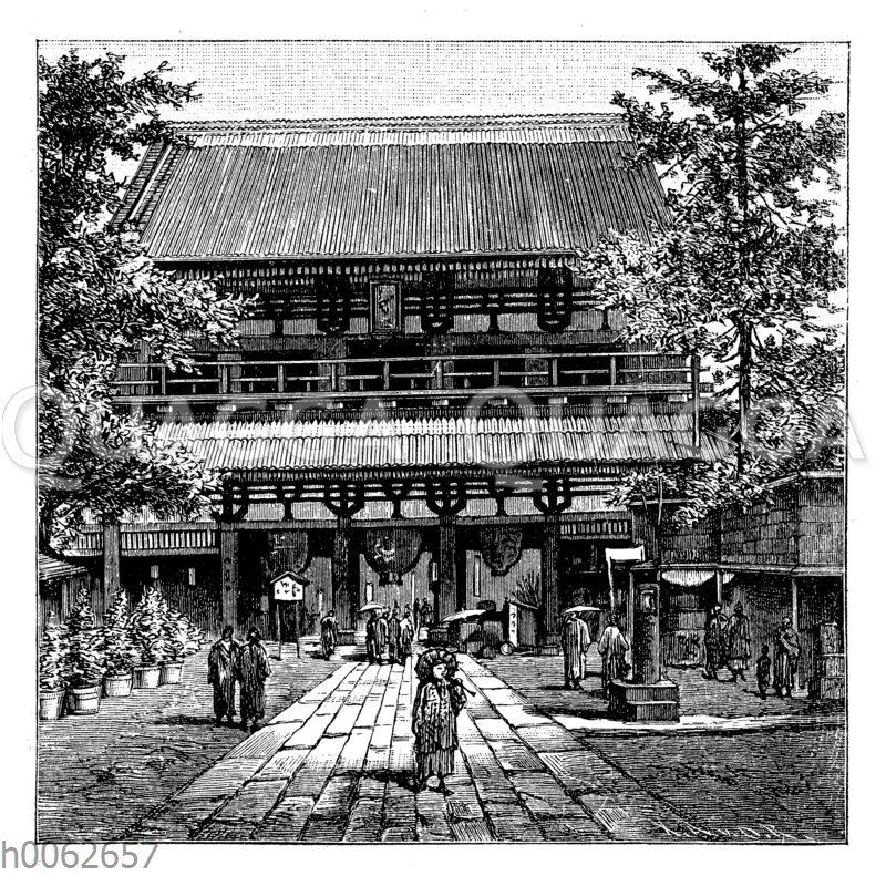 Tempeltor in Asakusa