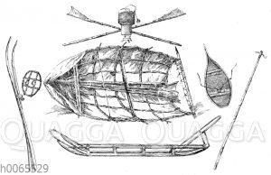 Ausrüstung von Fridtjof Nansen und Otto Sverdrup: Boot