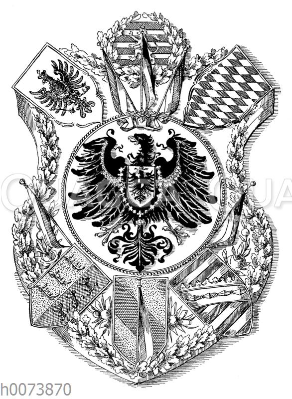 Deutsche-National-Torte: Dekoration