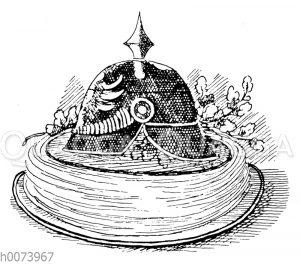 Torte mit Pickelhaube