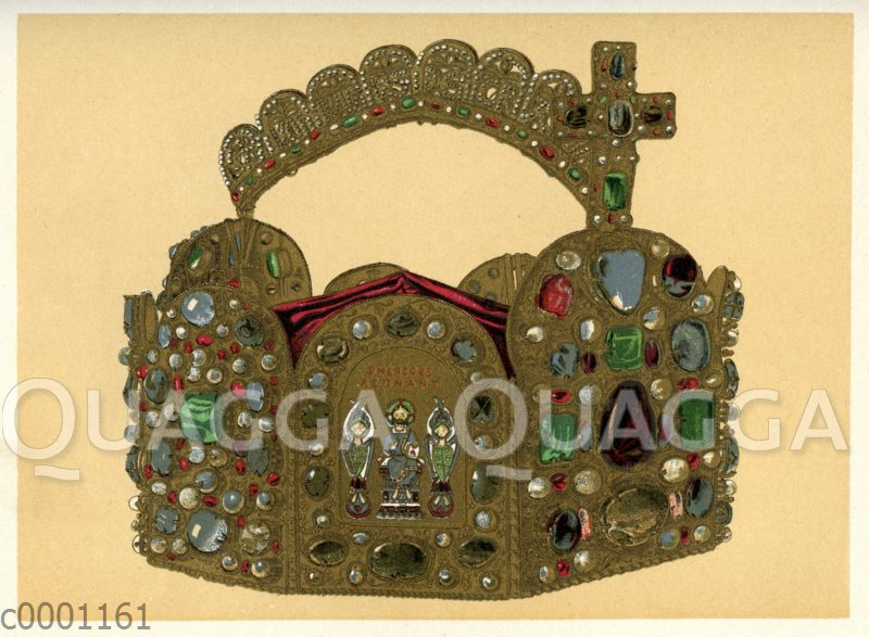 Die deutsche Kaiserkrone. Corona aurea