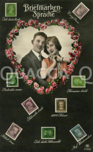 Briefmarkensprache