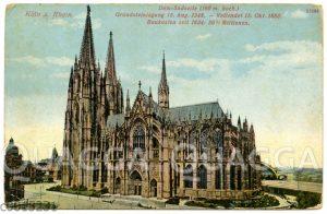 Südseite des Kölner Doms