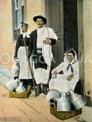 Landleute von Teneriffa