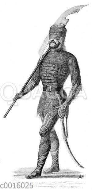 Mongolische Rüstung aus dem 14. Jahrhundert