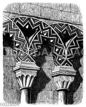 Blendarkade in der Kelson-Abtei