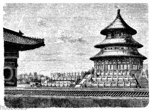 Neuerer Tempel: in Peking