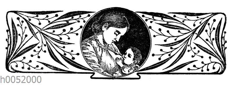 Vignette: Stillende Mutter