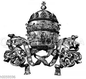 Päpstliche Krone (Tiara)