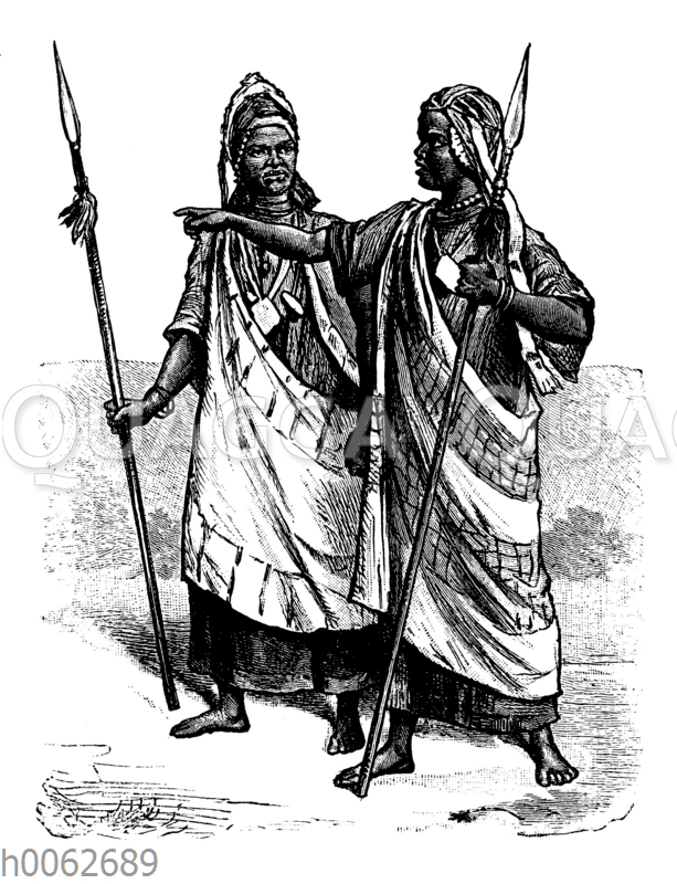 Junge Mandingo-Männer