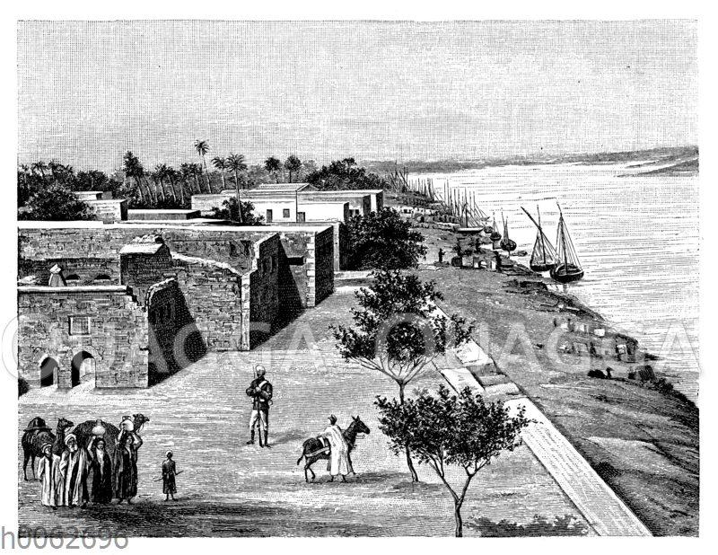 Ansicht von Khartum