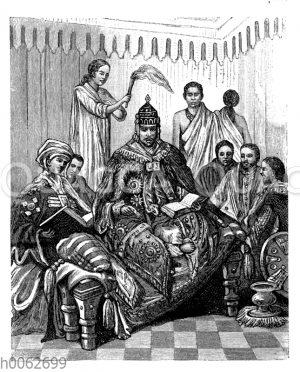 Negus Negesti von Abessinien