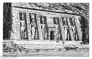 Tempel der Hathor zur Abu Simbel