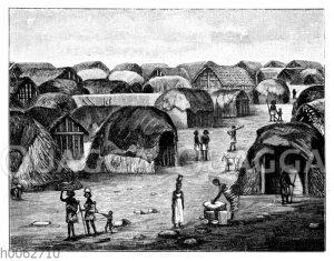 Eine Somali-Niederlassung