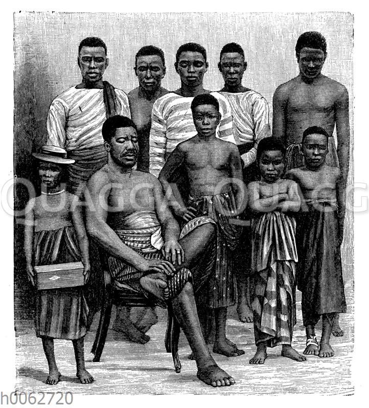 Leute aus dem Kamerungebiet