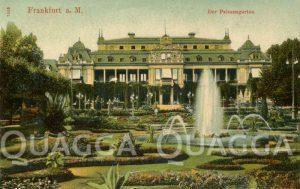 Palmengarten in Frankfurt um 1906