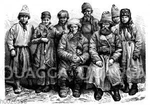 Lappen aus Russland