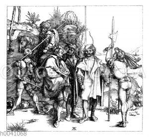 Kriegsleute um die Wende des fünfzehnten Jahrhunderts