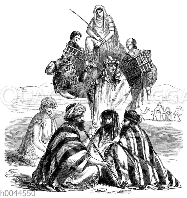 Orientalische Trachten