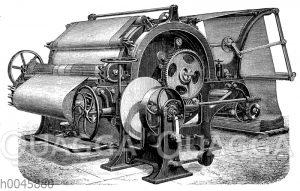 Dampftrockenmaschine